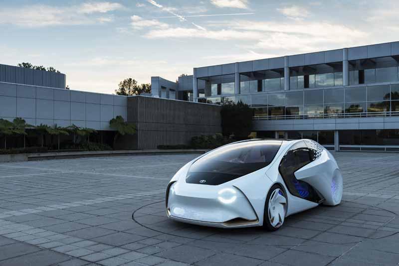 Foto Delantera Toyota Concept-i Monovolumen 2017