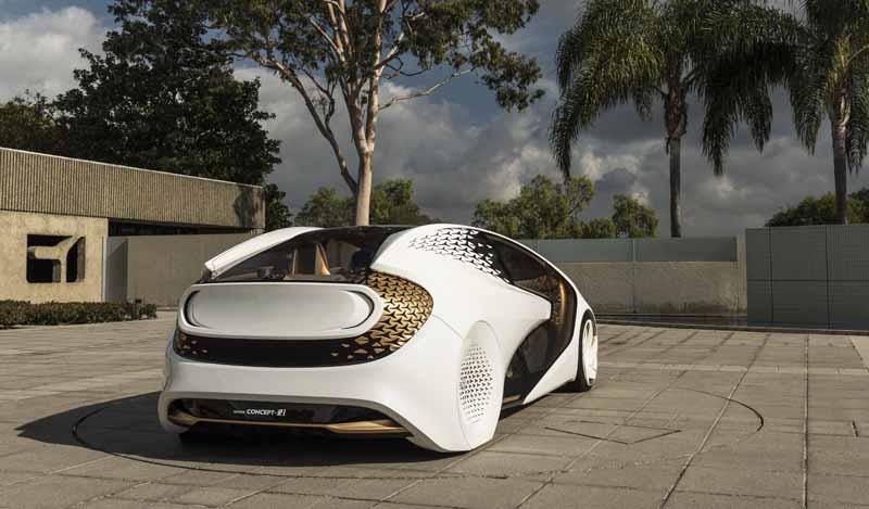 Foto Trasera Toyota Concept-i Monovolumen 2017