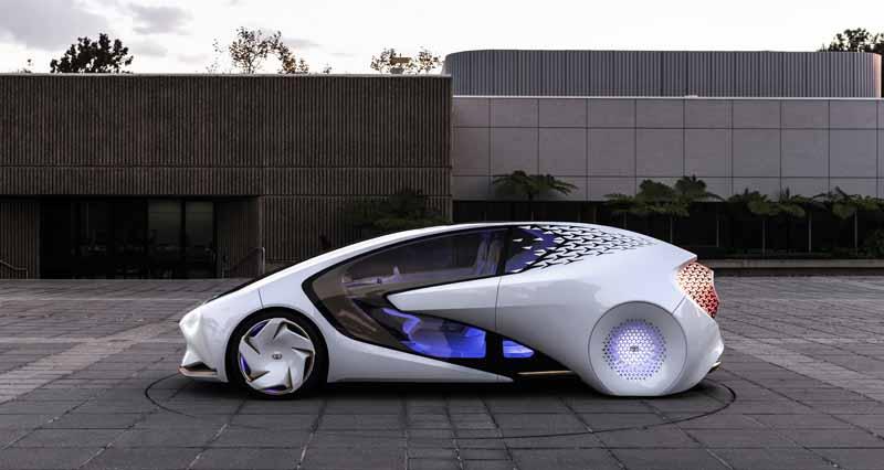 Foto Exteriores (4) Toyota Concept-i Monovolumen 2017
