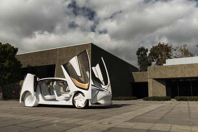 Foto Exteriores (6) Toyota Concept-i Monovolumen 2017