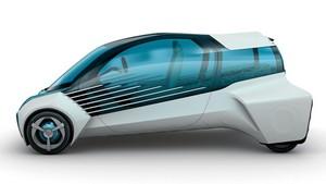 Foto Exteriores Toyota Fcv-plus Concept 2015