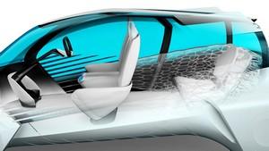 Foto Interiores Toyota Fcv-plus Concept 2015