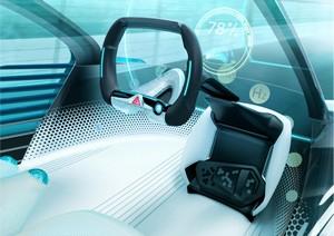 Foto Salpicadero Toyota Fcv-plus Concept 2015