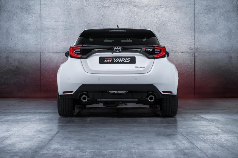 Foto Trasera Toyota Gr Yaris Dos Volumenes 2020