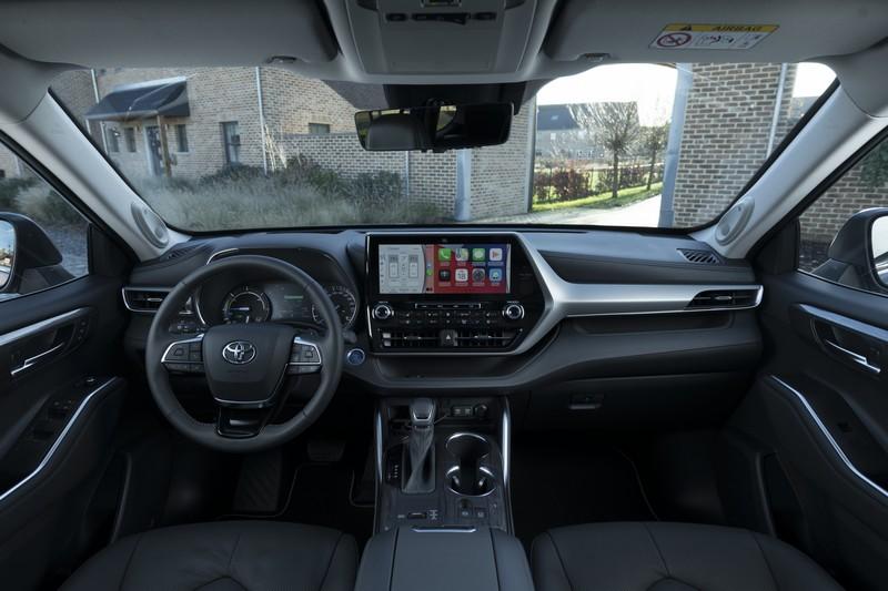 Foto Salpicadero Toyota Highlander Suv Todocamino 2021