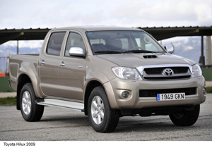 Foto Frontal Toyota Hilux Pickup 2009