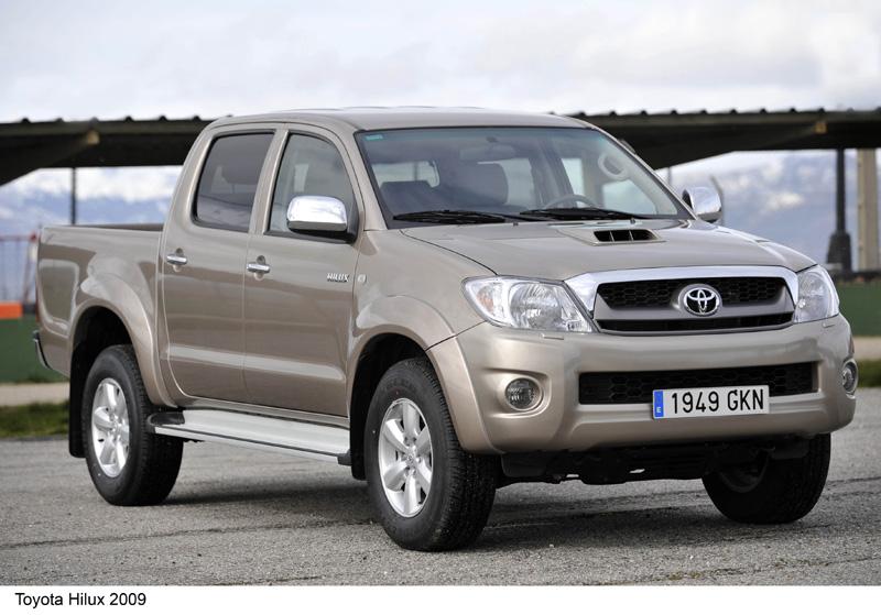 Foto Frontal Toyota Hilux Pickup 2009