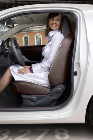 Foto Interiores Toyota Iq Monovolumen 2009