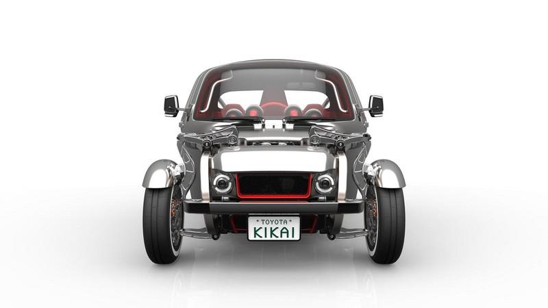 Foto Delantera Toyota Kikai Concept 2015