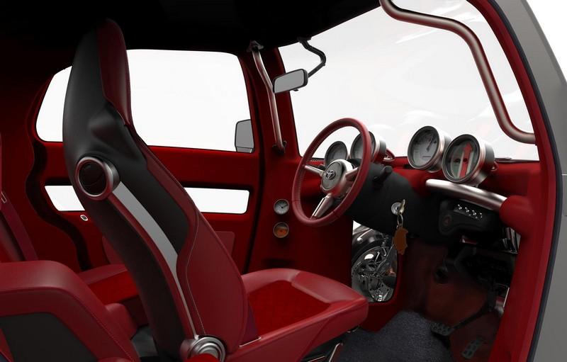 Foto Interiores Toyota Kikai Concept 2015