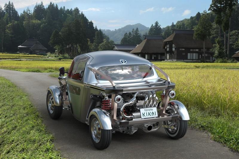 Foto Trasera Toyota Kikai Concept 2015