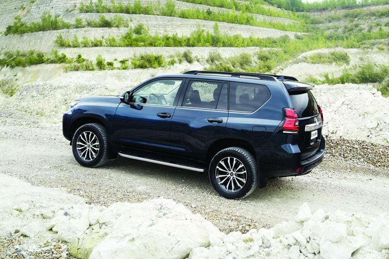 Foto Exteriores Toyota Land Cruiser Suv Todocamino 2018