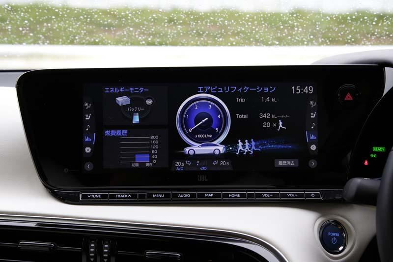 Foto Detalles Toyota Mirai Sedan 2021