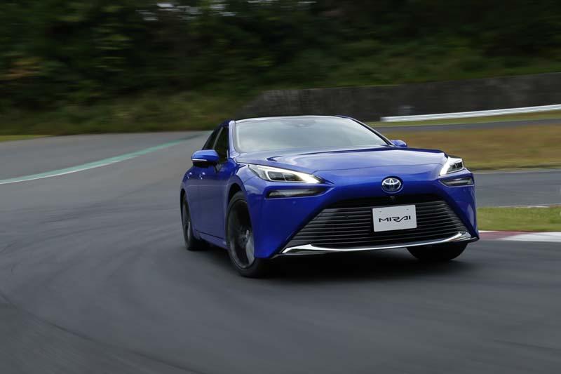 Foto Exteriores Toyota Mirai Sedan 2021