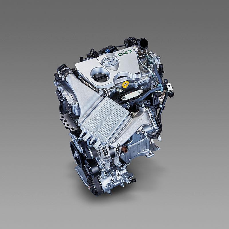 Motor de pequeña cilindrada y turbo de Toyota