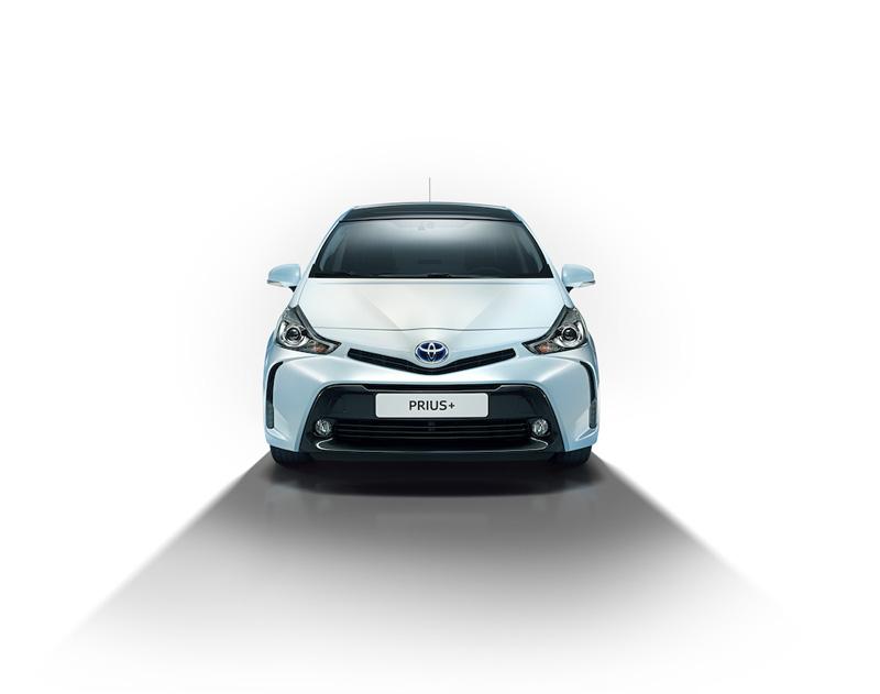 Puesto de conducción Toyota Prius+ 2015