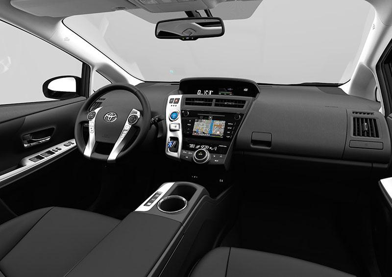 Foto Interior Toyota Prius+ Monovolumen 2015