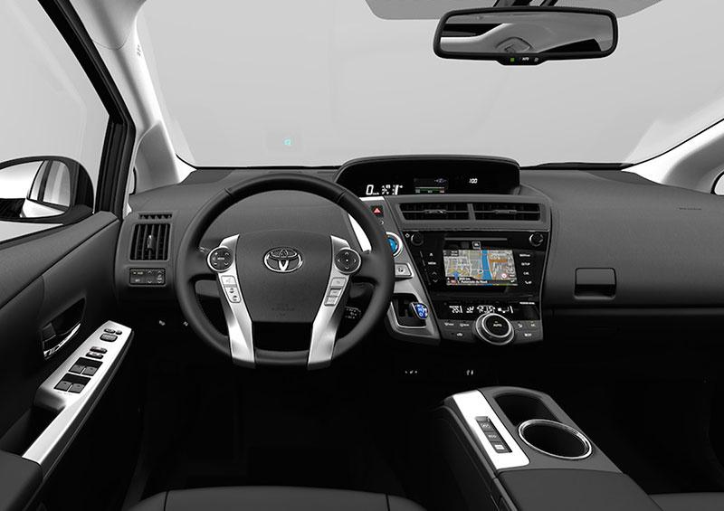Foto Salpicadero Toyota Prius+ Monovolumen 2015