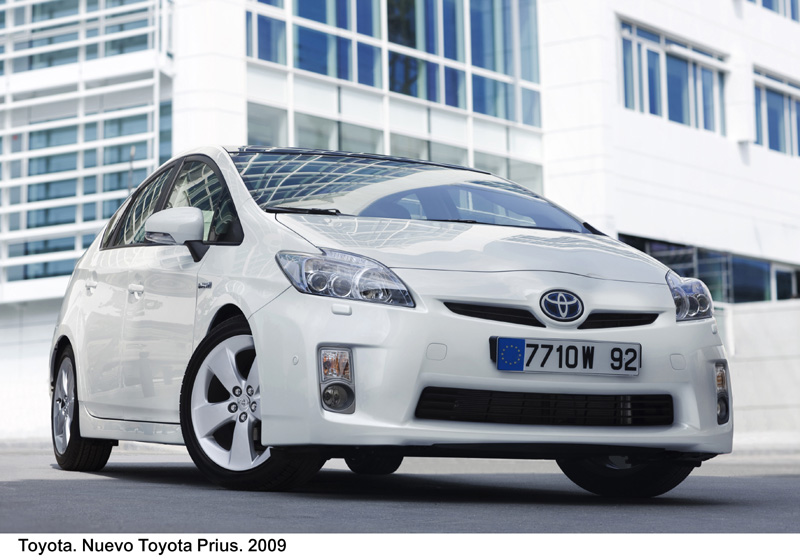 Foto Frontal Toyota Prius Dos Volumenes 2009