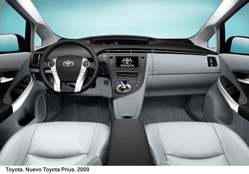 Foto Salpicadero1 Toyota Prius Dos Volumenes 2009
