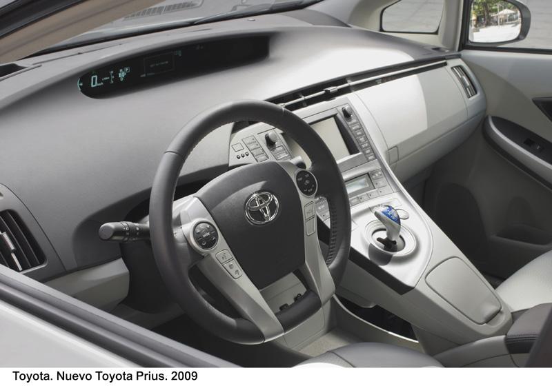 Foto Salpicadero2 Toyota Prius Dos Volumenes 2009