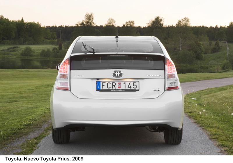 Foto Trasero1 Toyota Prius Dos Volumenes 2009