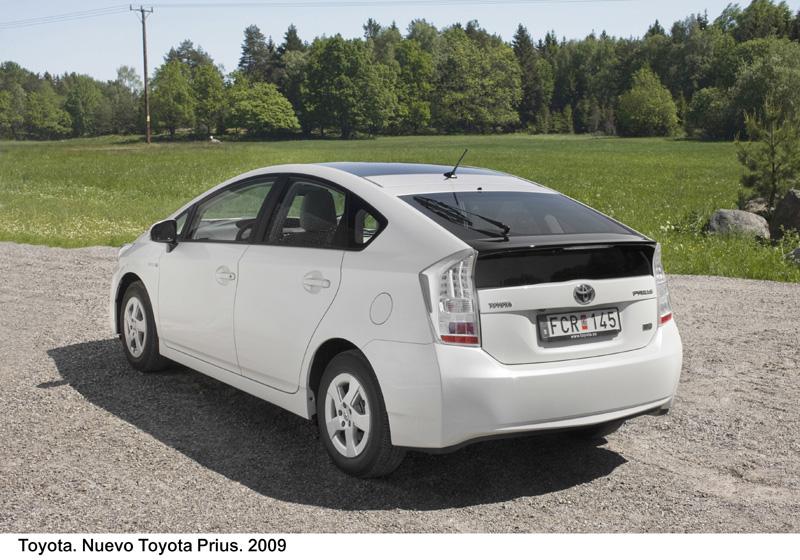 Foto Trasero2 Toyota Prius Dos Volumenes 2009