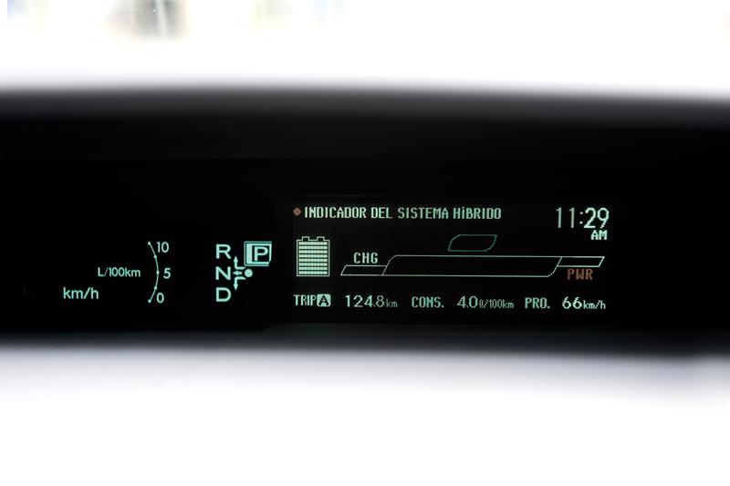 Foto Detalles Toyota Prius Enchufable Prototipo 2010