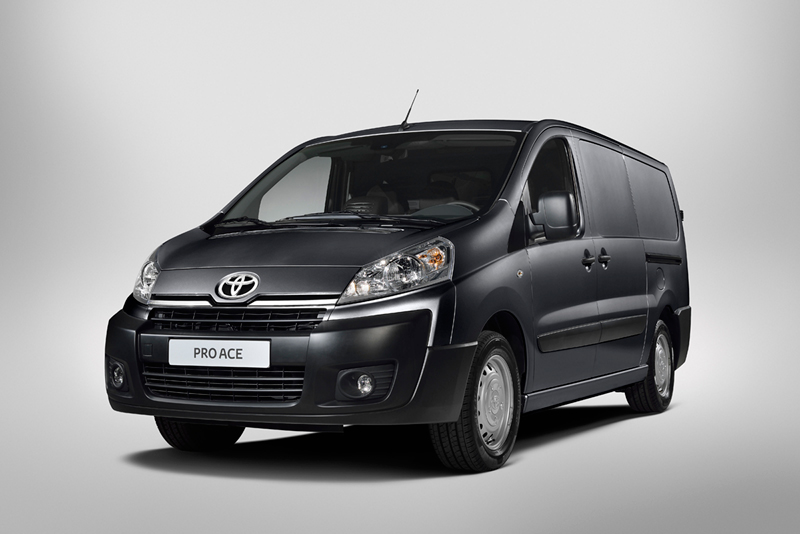 Foto Exteriores (1) Toyota Proace Vehiculo Comercial 2013