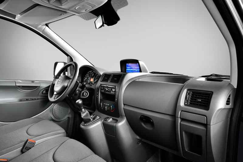 Foto Interiores Toyota Proace Vehiculo Comercial 2013