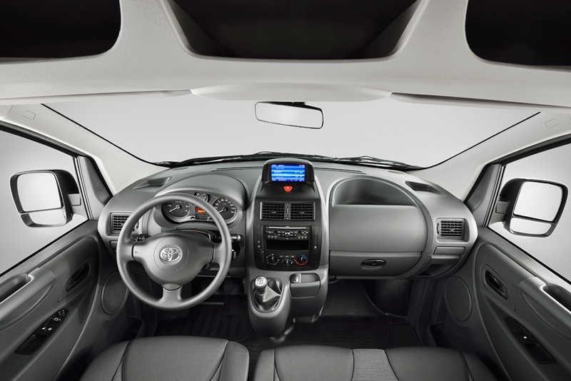 Foto Salpicadero Toyota Proace Vehiculo Comercial 2013