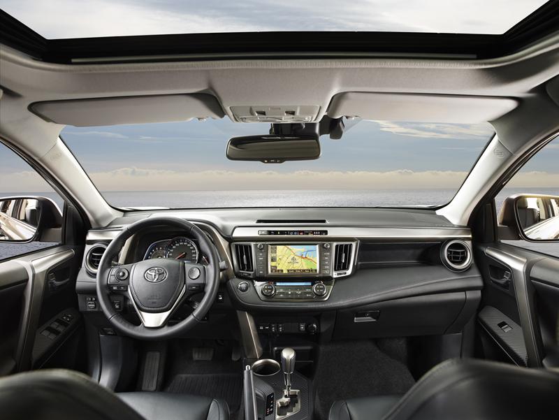Foto Interiores Toyota Rav4 Suv Todocamino 2013