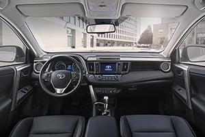 Foto Salpicadero Toyota Rav4-hybrid Suv Todocamino 2016