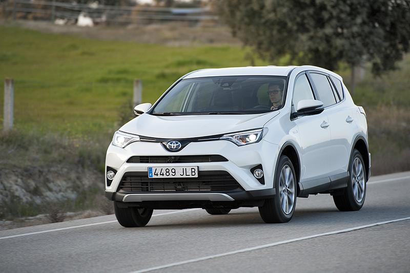 Foto Exteriores Toyota Rav4 Hybrid Suv Todocamino 2016