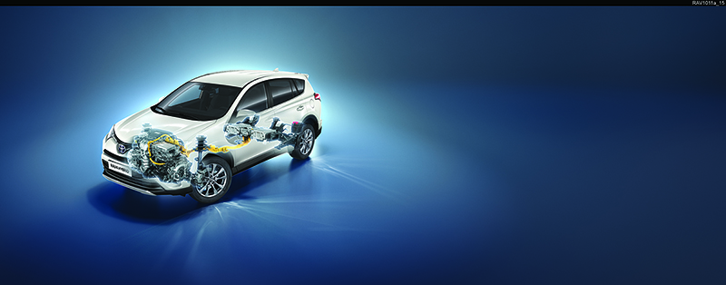 Foto Tecnicas Toyota Rav4 Hybrid Suv Todocamino 2016