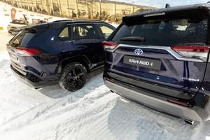 Foto Trasera Toyota Rav4-hybrid-awd Suv Todocamino 2019
