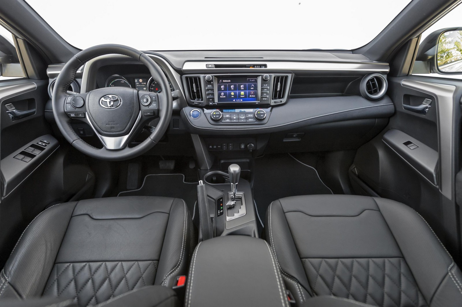 Foto Interiores 1 Toyota Rav4 Hybrid Feel Edition Suv Todocamino 2017