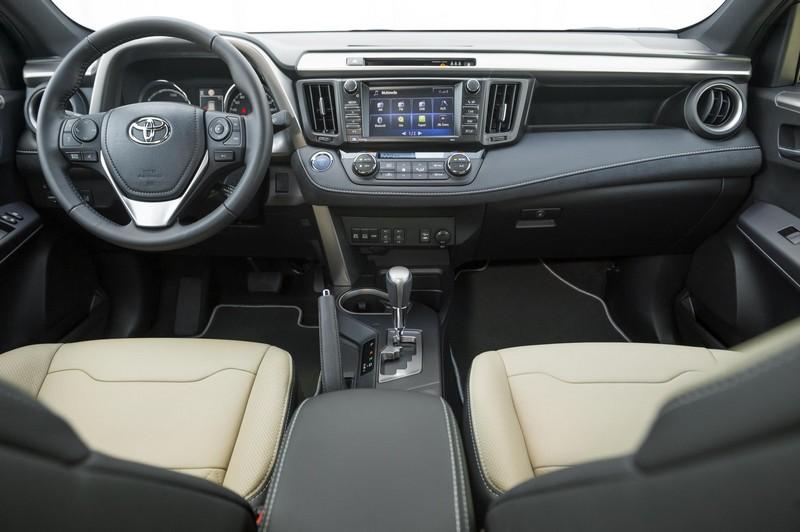 Foto Salpicadero Toyota Rav4 Hybrid Feel! Edition Suv Todocamino 2017