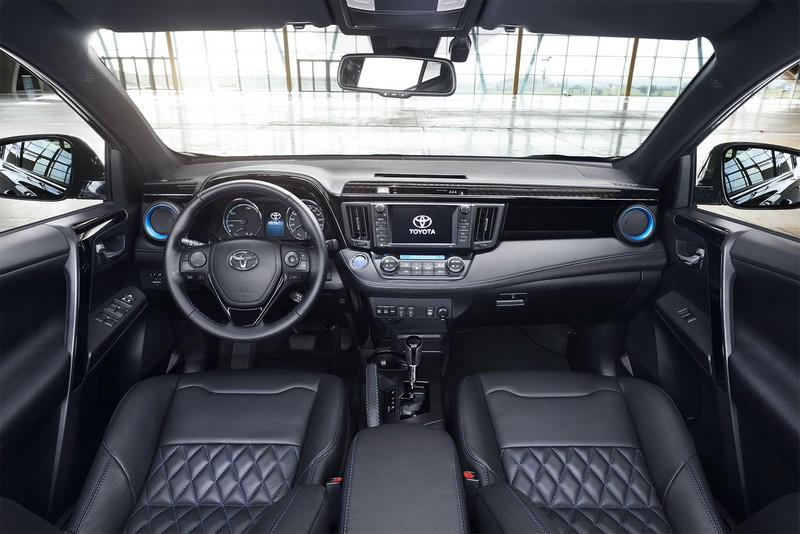 Foto Salpicadero Toyota Rav4-hybrid-sapphire Concept 2016