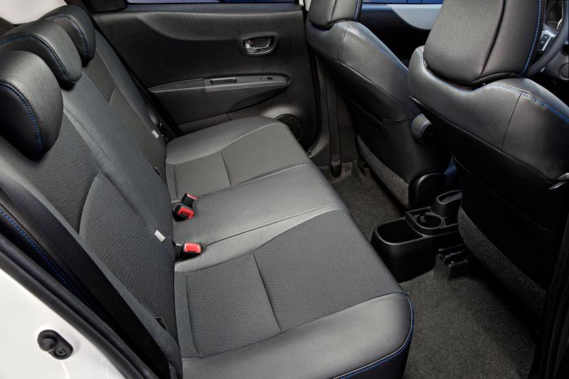 Toyota Yaris, análisis plazas posteriores maletero