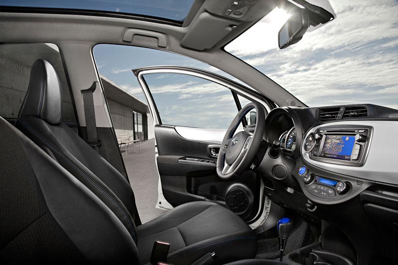 Toyota Yaris, interiores