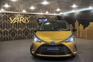 Foto Delantera Toyota Yaris-20-aniversario-limited-edtion Dos Volumenes 2018