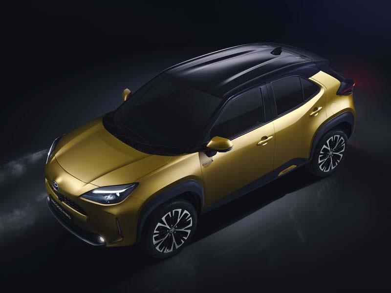 Toyota Yaris Cross 2021, foto delantera