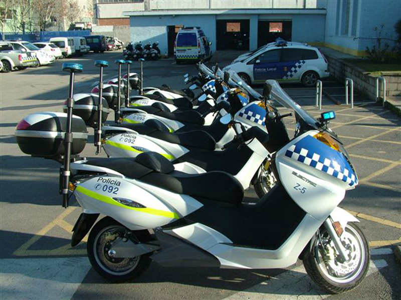 Foto Vectrix Policia Vectrix Scooters