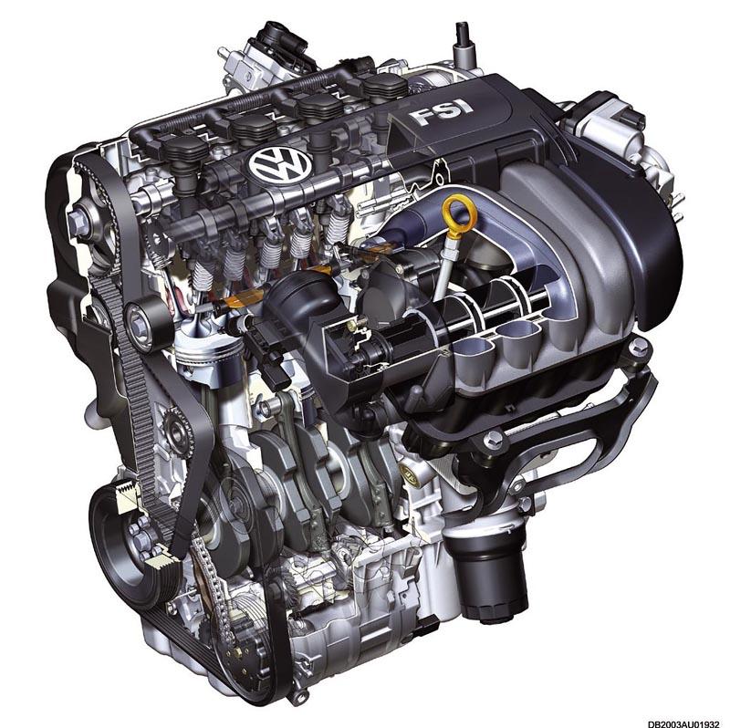 Foto Fsi Volkswagen Motores Gasolina