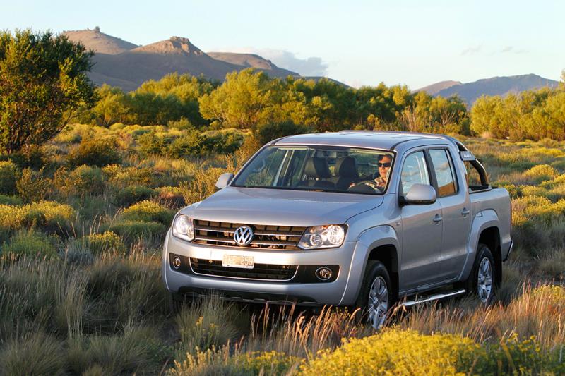 Foto Delantera Volkswagen Amarok Vehiculo Comercial 2010
