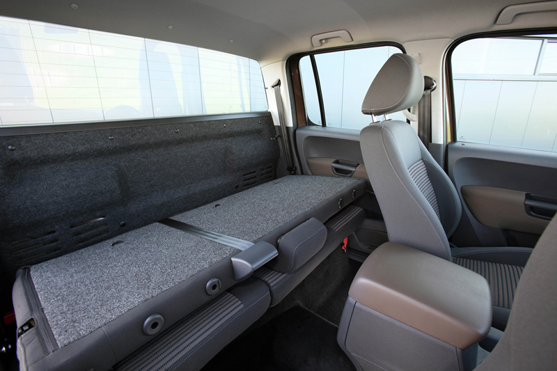 Foto Interiores Volkswagen Amarok Vehiculo Comercial 2010
