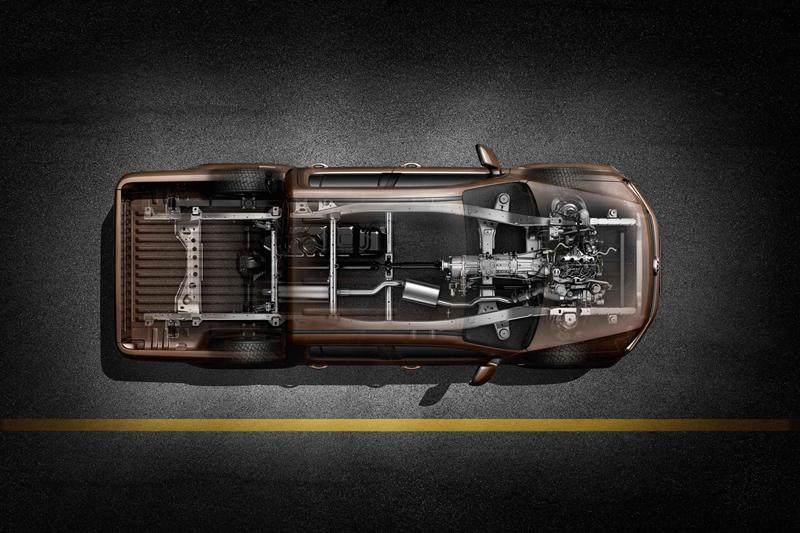 Foto Tecnicas Volkswagen Amarok Vehiculo Comercial 2010