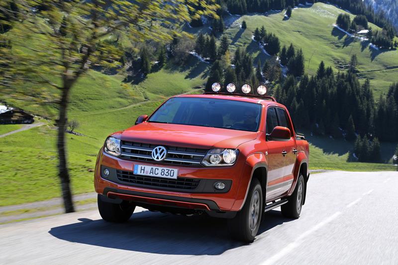 Foto Delantera Volkswagen Amarok Vehiculo Comercial 2013
