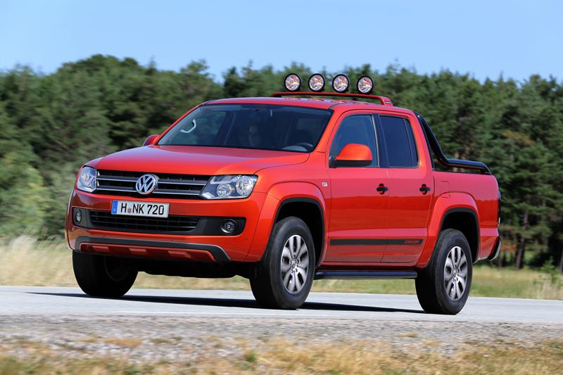 Foto Perfil Volkswagen Amarok Vehiculo Comercial 2013
